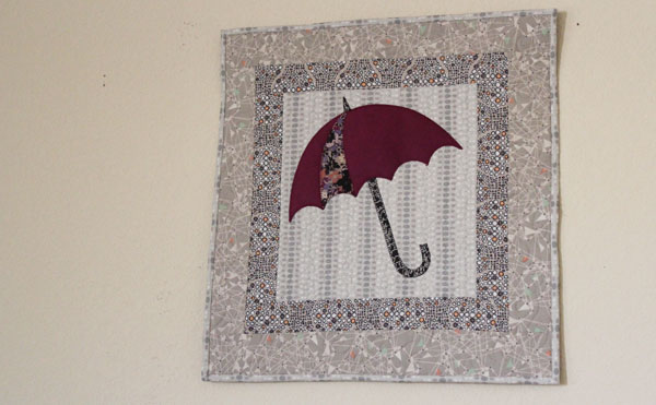 wall hanging umbrella