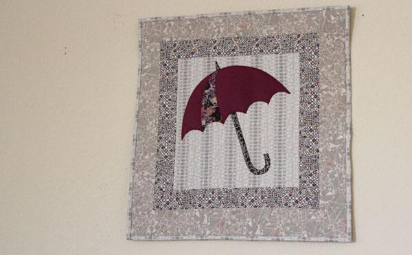 wall hanging umbrella