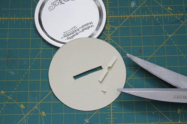 cut hole