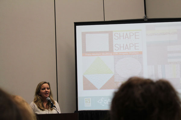 Angela Walters at Quiltmarket