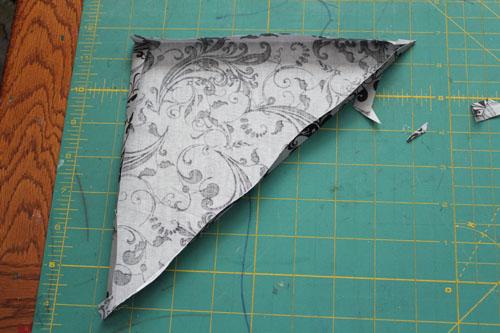 remove freezer paper
