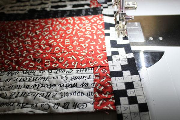 stitch down binding