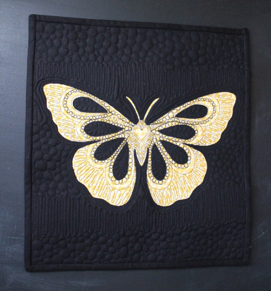 Mini Butterfly quilt
