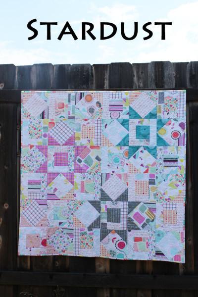 """Free Quilt Pattern - """"Stardust"""""""