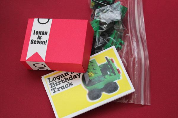 custom lego favors