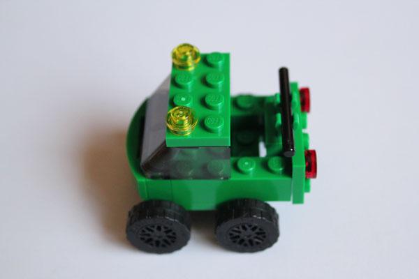 mini lego truck
