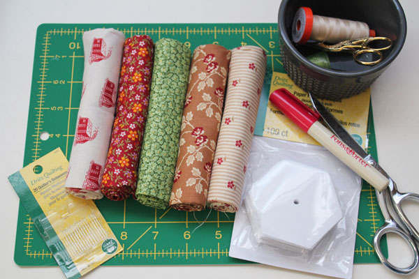 supplies for pin cushion