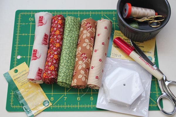 supplies for pin cushion
