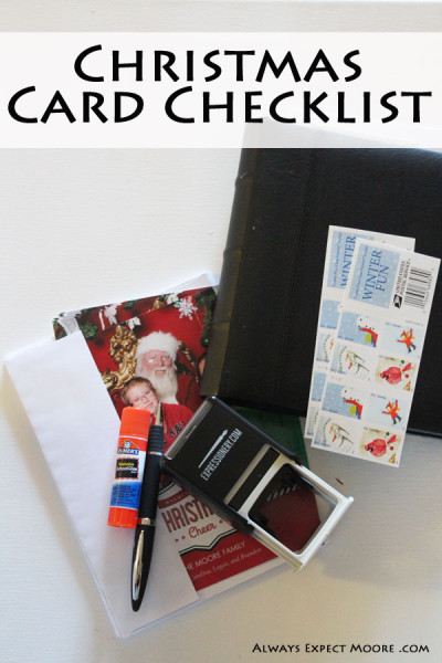 Christmas-Card-Checklist