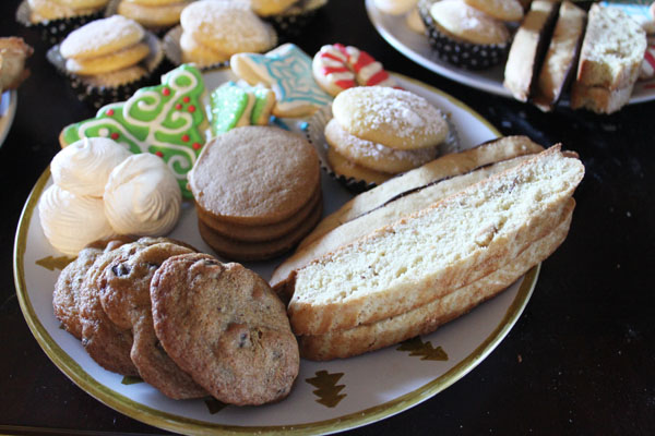 The Ultimate plate of Christmas Cookies