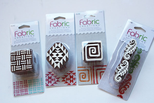 Additional Blocks for printing on fabric