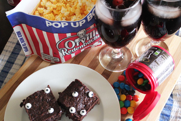 Monster Brownies and Vampire Coca-Cola