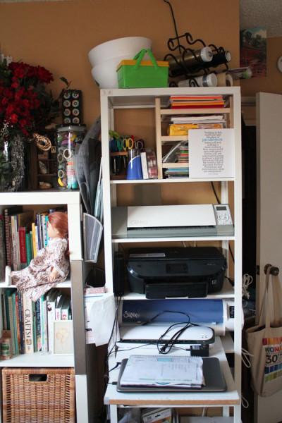 creative storage space