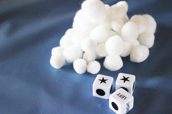 snowball left center right