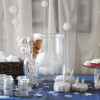 snowball party decor