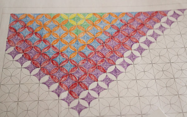 Coloring Quilts On FREE Quilt Pages