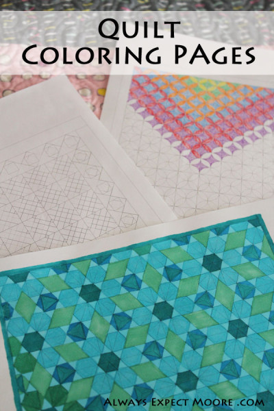 FREE Quilt ColoringPages