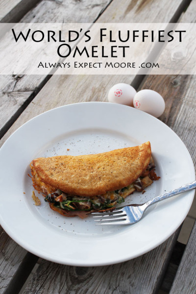 World's fluffiest Omelet - how to make any omelet SO much better!