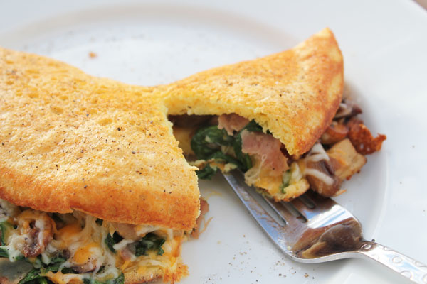 dig in to the best omelet