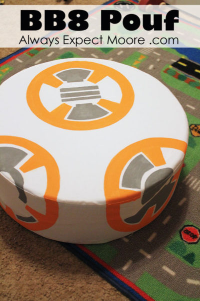 DIY BB8 Pouf
