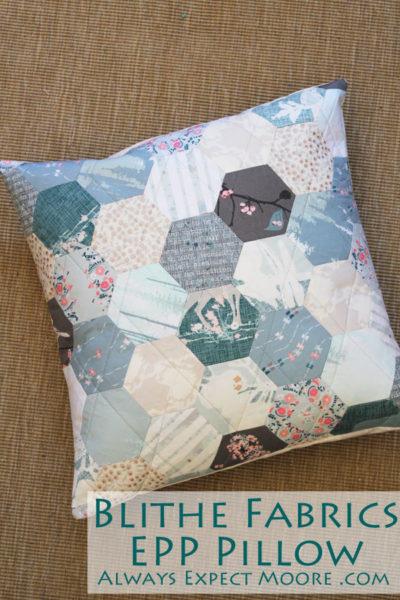 Blithe Fabrics EPP Pillow