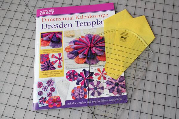 Dimensional Kaleidoscope Dresden Template
