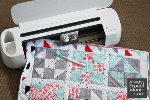 learn to quilt using your Cricut