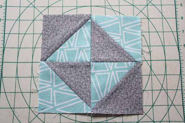 broken dishes quilt block - part of the Cricut Maker Block of the Week series
