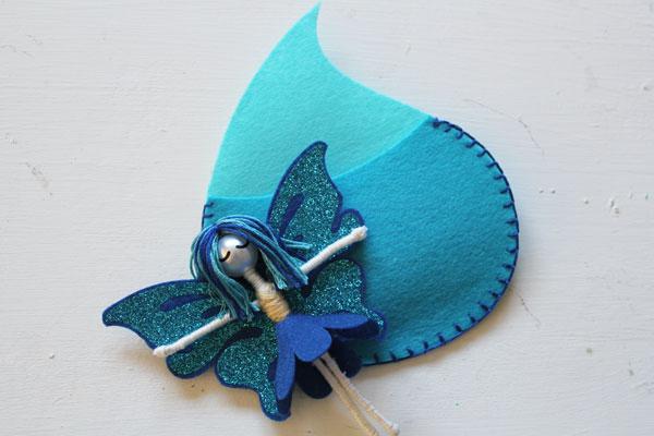 cute water floss fairy