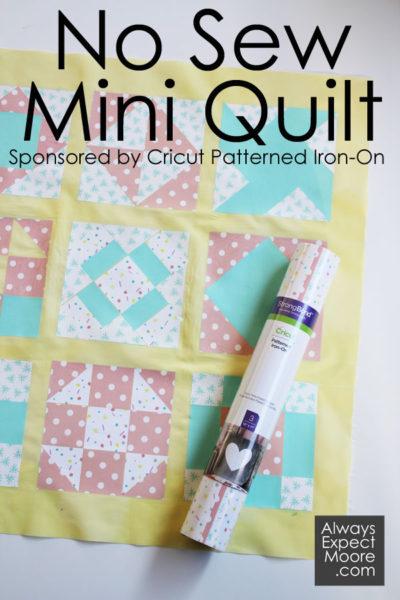No Sew Mini Quilt