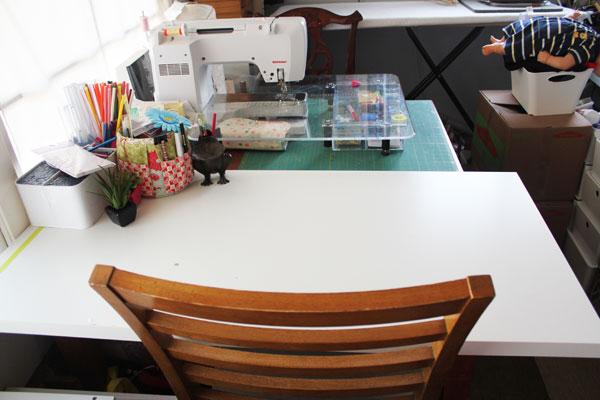 crafting workspace