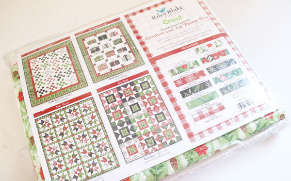 quilt options with the comfort and joy quilt kit