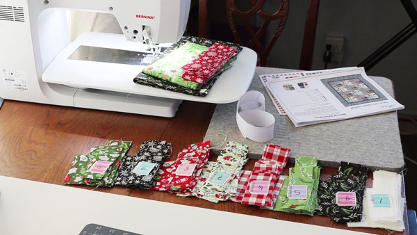 label your fabrics when quilting