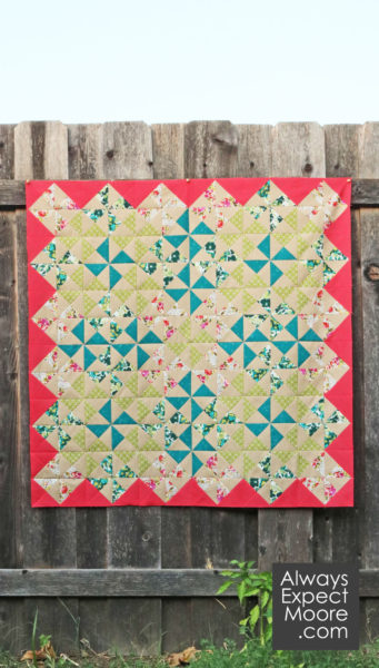 Bold with a Twist Quilt